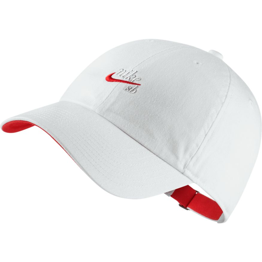 Nike SB Heritage 86 Icon Adjustable Hat White