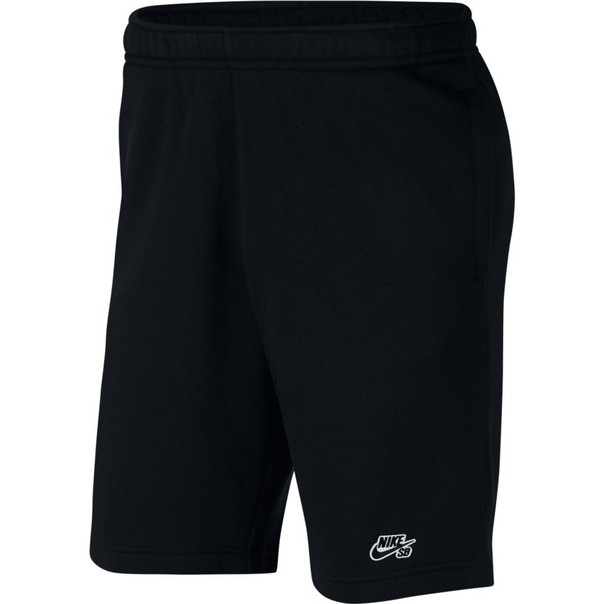 Nike SB Icon Fleece Skate Shorts Black