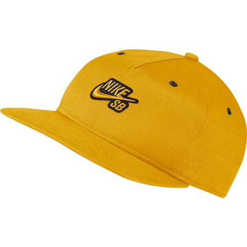 Nike SB Flat Bill Deconstructed Snapback Hat Yellow