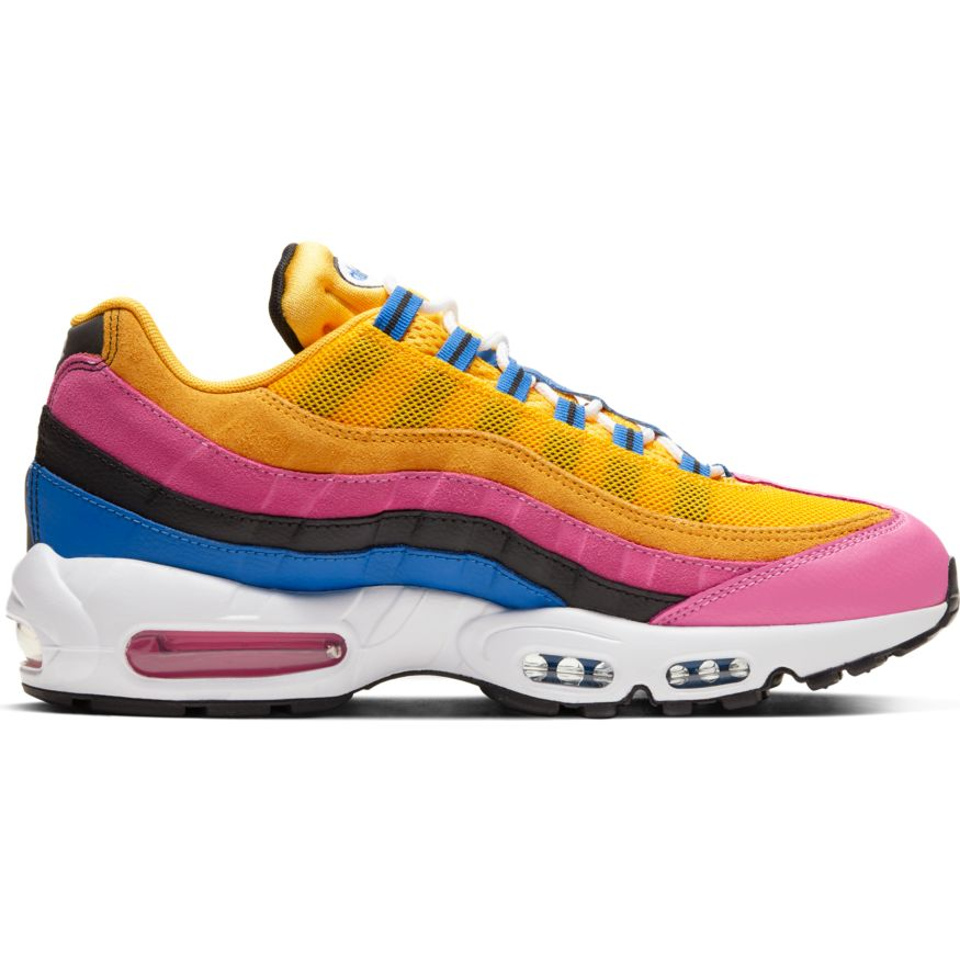 Nike Air Max 95 Multi Suede University Gold/Black-White/Pinksicle