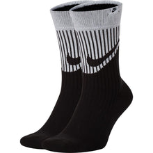 Load image into Gallery viewer, Nike SNKR Sox Black Grey