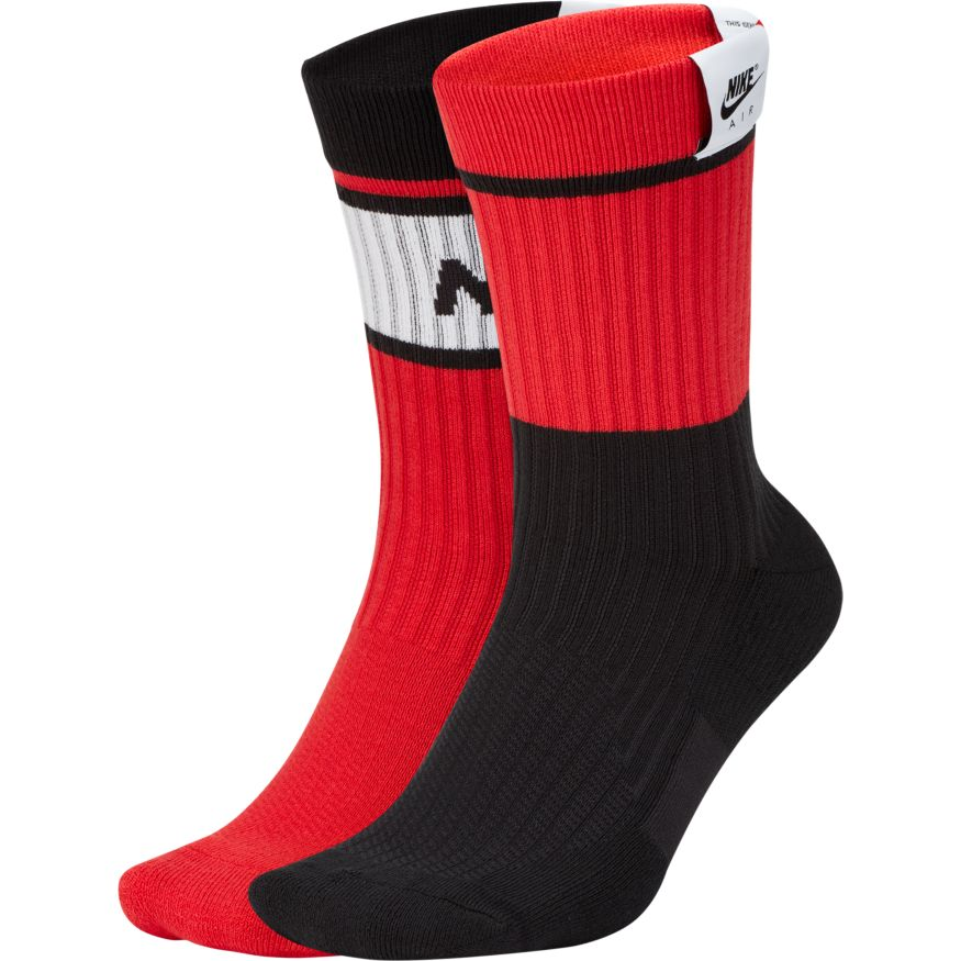Nike Air SNKR Sox Red Black