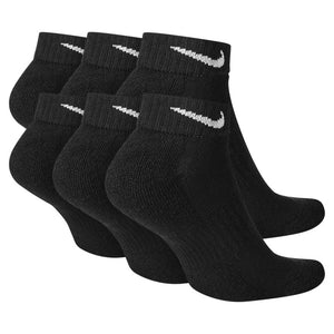 Nike Everyday Cushioned Training Low Socks (6 Pairs) Black