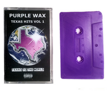 Load image into Gallery viewer, Purple Wax Texas Hits Vol 1 Wax