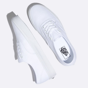 Shop for Vans Authentic True White at Waterman Supply Co, Austin Texas.