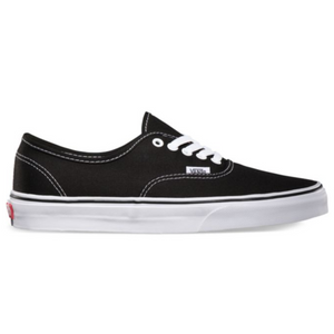 Shop for Vans Authentic Black/White at Waterman Supply Co, Austin Texas.