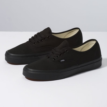 Load image into Gallery viewer, Shop for Vans Authentic Black/Black at Waterman Supply Co, Austin Texas.