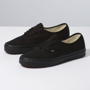 Shop for Vans Authentic Black/Black at Waterman Supply Co, Austin Texas.
