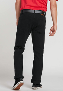 Get Volcom Solver Modern Fit Jeans Blackout at Waterman Supply Co Austin Texas