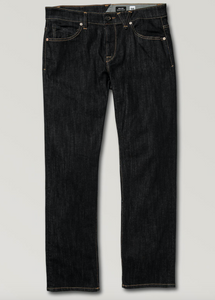 Get Volcom Solver Modern Fit Jeans Rinse at Waterman Supply Co Austin Texas