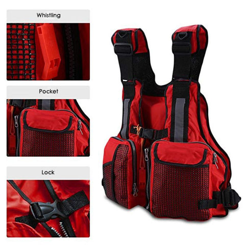 Adult Life Jacket   Swimming Fishing Surfing Boating