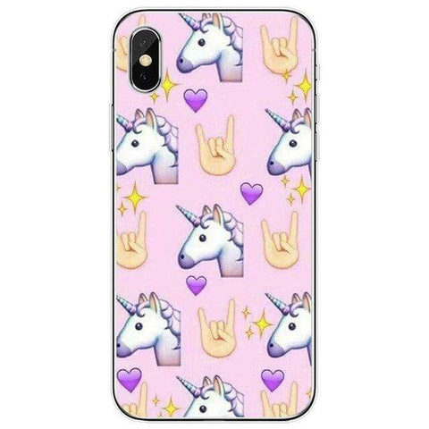 Coque Licorne <br> iPhone Be Cool - La Licorne Ailée