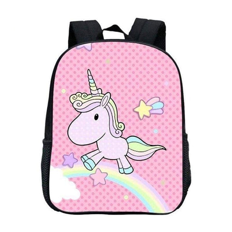 Cartable Licorne Univers Rose