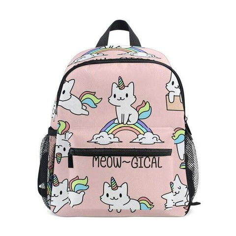 Cartable Licorne Meow-Gical