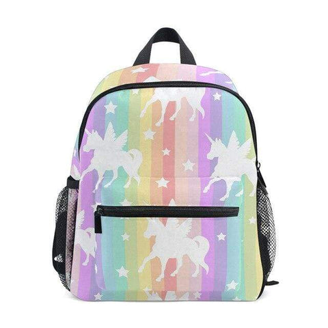 Cartable Licorne Parade Arc-en-ciel