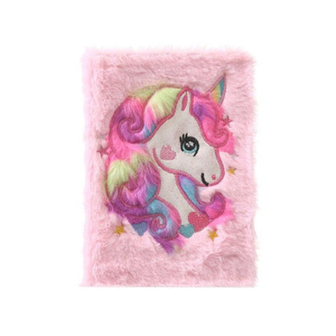 Journal Intime Licorne <br> Doux Secret Rose - La Licorne Ailée