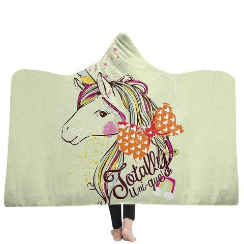 Plaid Licorne <br> Totally Unique - La Licorne Ailée