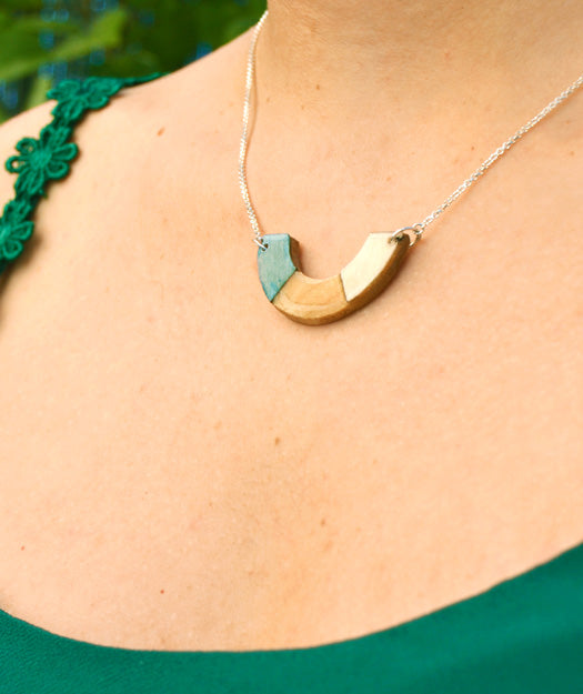 Wooden Necklace | Horizont