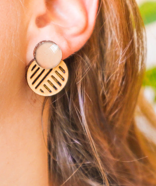 Wooden Earrings | Ito