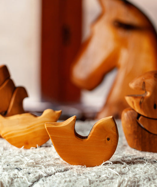 Wooden Toy | Dento fish
