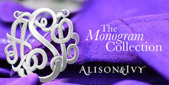 monogram jewelry alison and ivy