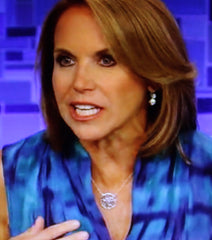 Katie Couric Monogram Necklace