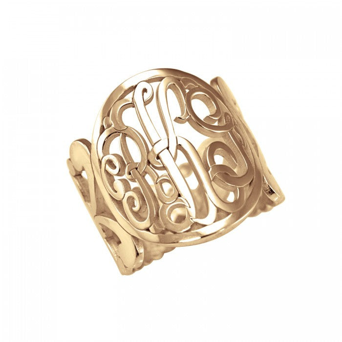 Classic Band Monogram Ring Apparel & Accessories > Jewelry > Rings
