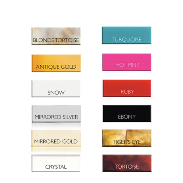 acrylic color chart