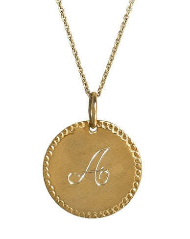 Gold Charmed Necklace Apparel & Accessories > Jewelry > Necklaces - 1