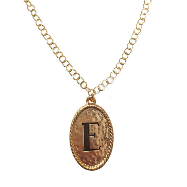 Taylor Initial Necklace by Lisa Stewart Jewelry Apparel & Accessories > Jewelry > Necklaces - 2