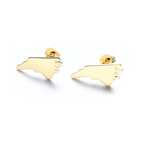 Moon and Lola State Earrings Apparel & Accessories > Jewelry > Necklaces - 1