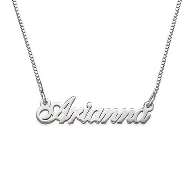 Sterling Silver Mini Name Necklace - Extra Strength Apparel & Accessories > Jewelry > Necklaces - 1