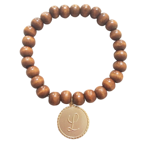 Lisa Stewart 14k Gold Plated Prayer Bead Bracelet Apparel & Accessories > Jewelry > Bracelets