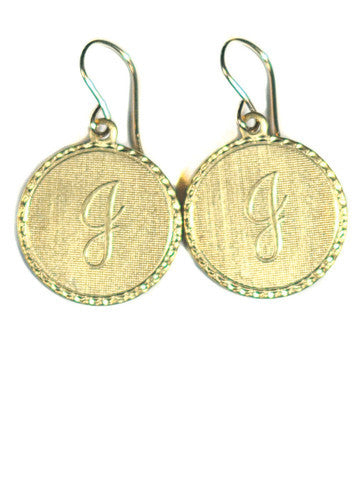 Moon and Lola Initial Earrings Apparel & Accessories > Jewelry > Earrings