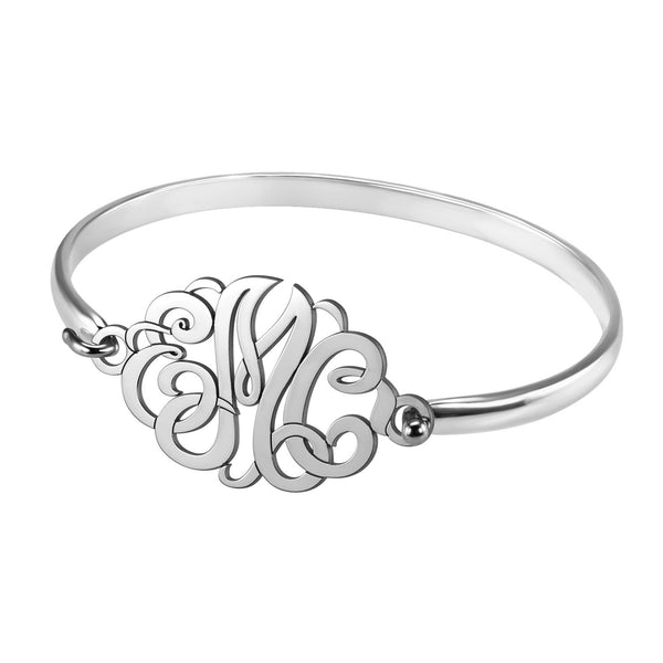 Classic Monogram Bangle Bracelet Apparel & Accessories > Jewelry > Bracelets - 2