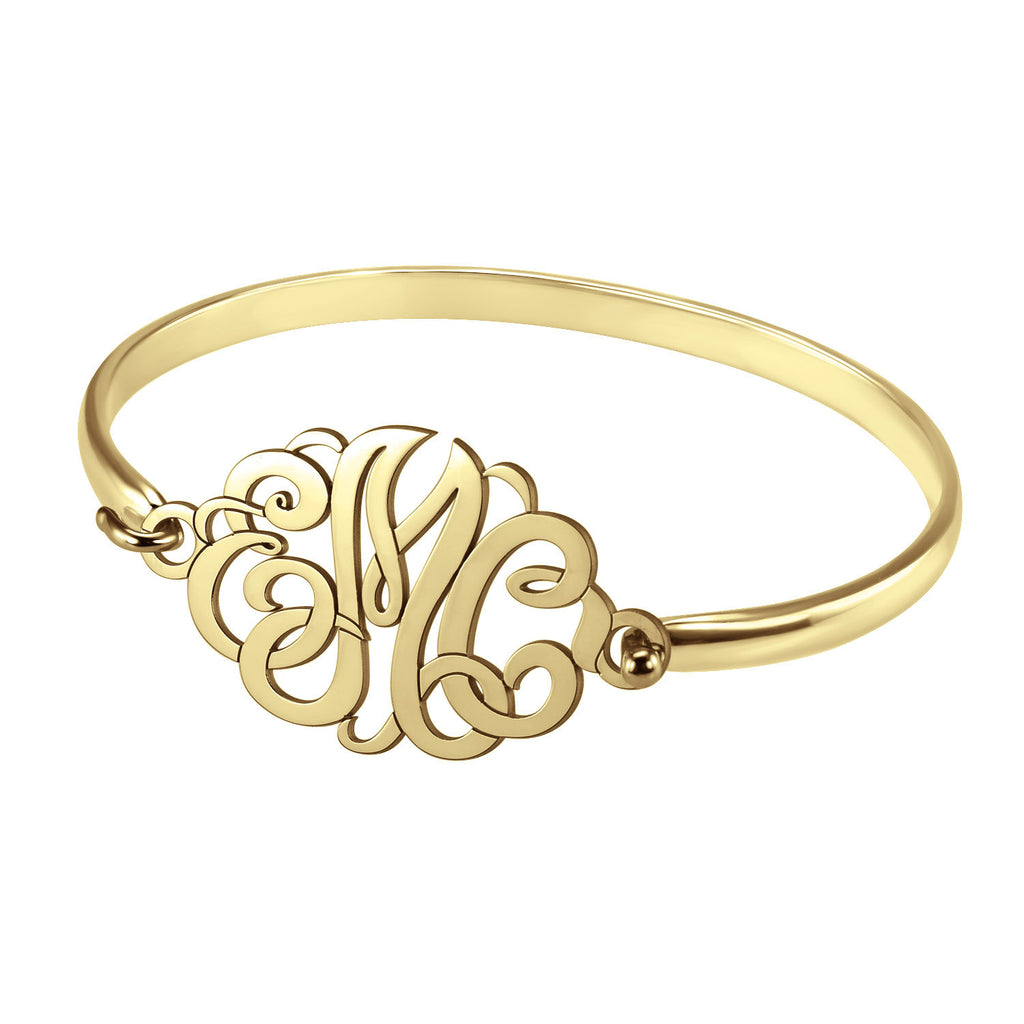 Classic Monogram Bangle Bracelet Apparel & Accessories > Jewelry > Bracelets - 1