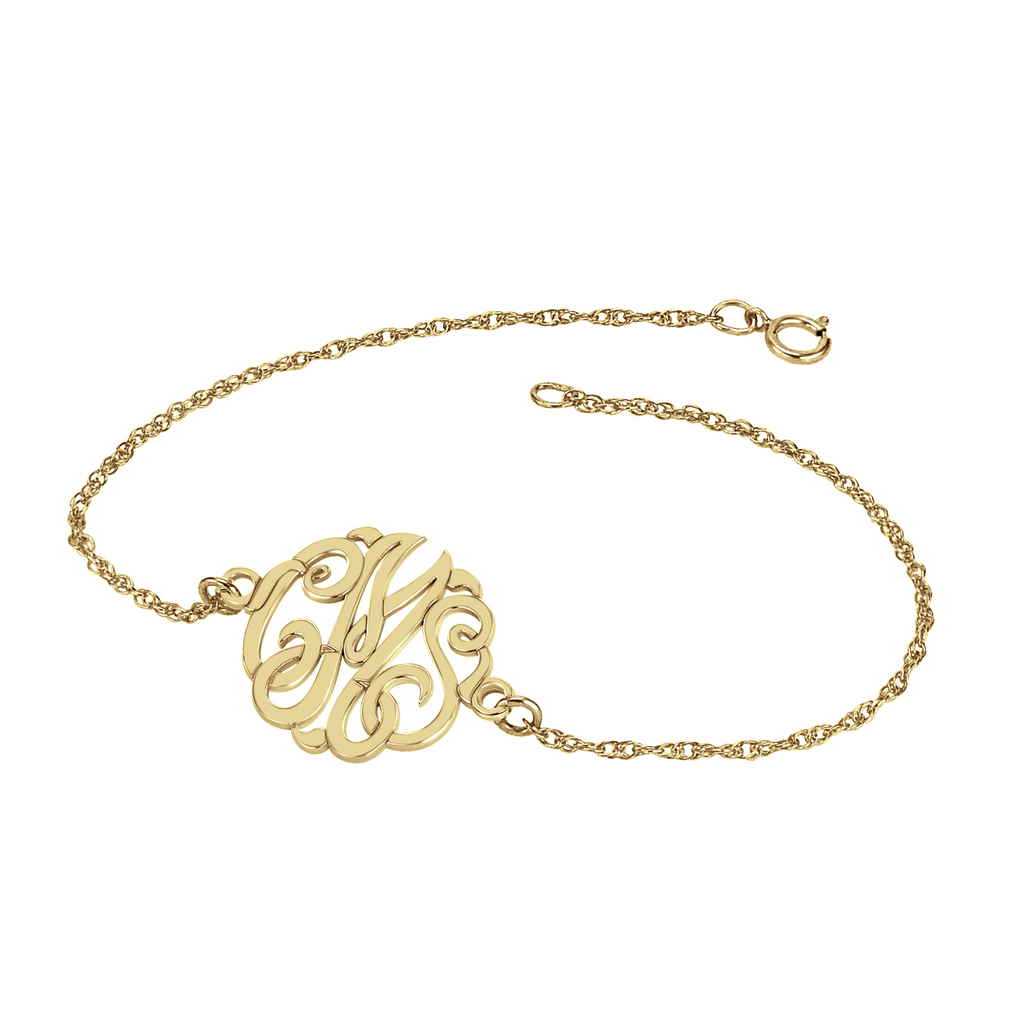 Classic Monogram Bracelet Apparel & Accessories > Jewelry > Bracelets - 1