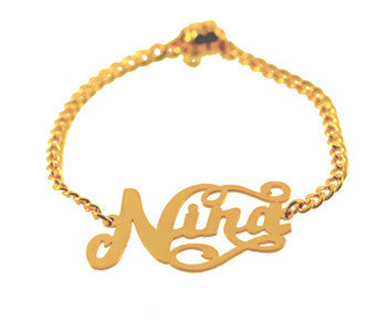 Caja ID Nameplate Bracelet Apparel & Accessories > Jewelry > Bracelets - 2
