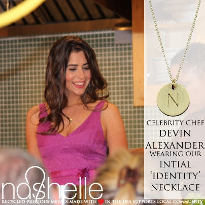 Nashelle Identity Initial Necklace Apparel & Accessories > Jewelry > Necklaces - 5