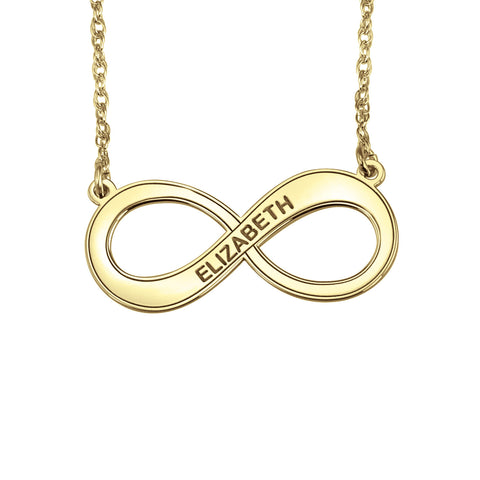 Infinity Name Necklace Apparel & Accessories > Jewelry > Necklaces - 1