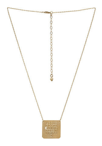 Moon and Lola Eye Chart Initial Necklace Apparel & Accessories > Jewelry > Necklaces - 2