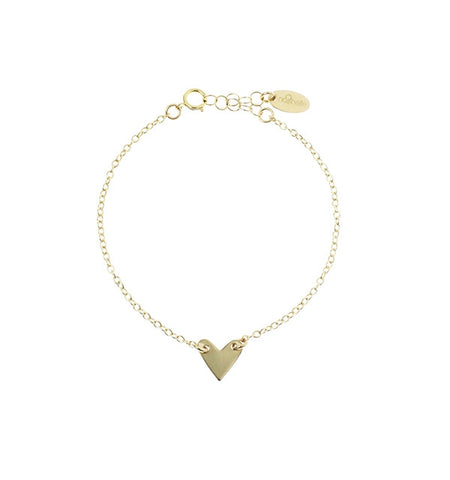 Nashelle Personalized Identity Heart Bracelet Apparel & Accessories > Jewelry > Bracelets