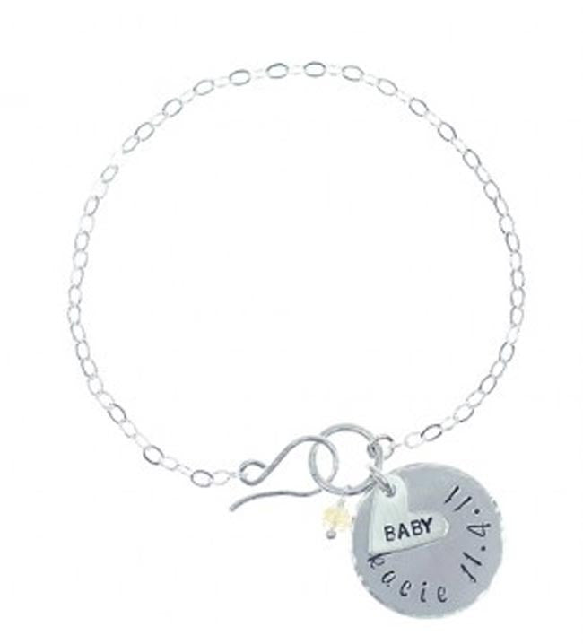 Hand Stamped Mothers Bracelet Apparel & Accessories > Jewelry > Bracelets - 1