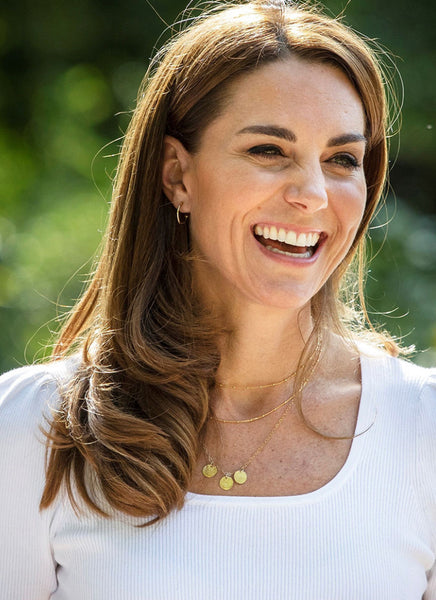 Kate Middleton Initial Necklace