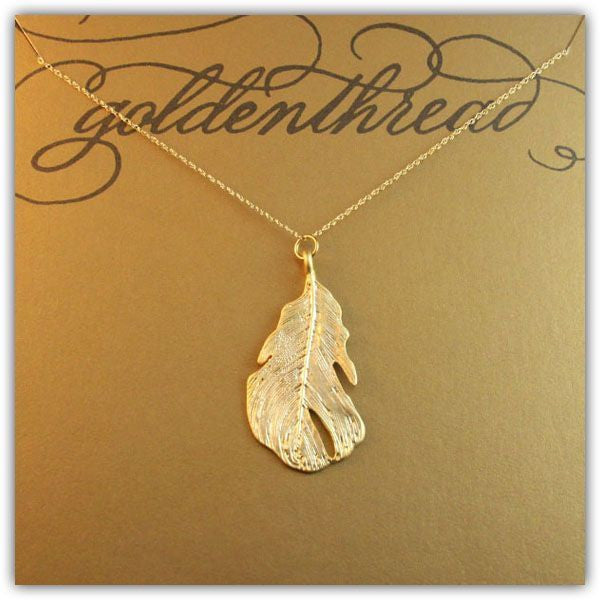 14K Gold Filled Favorite Leaf Necklace Apparel & Accessories > Jewelry > Necklaces - 3