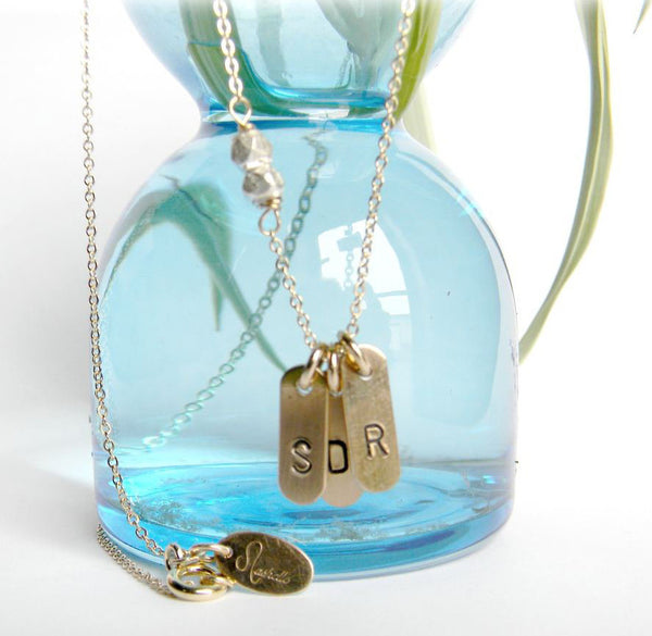 Nashelle Personalized Mini Bars Necklace 2