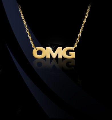 OMG Emoji Necklace by Jane Basch Designs Apparel & Accessories > Jewelry > Necklaces - 1