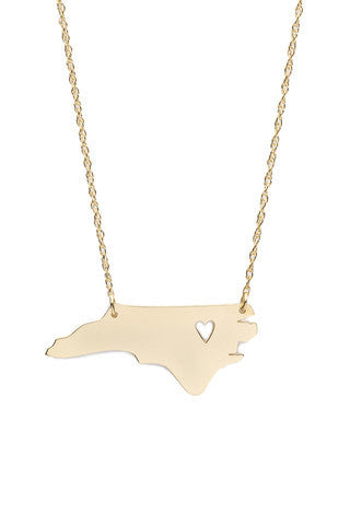 Moon and Lola State Necklace Apparel & Accessories > Jewelry > Necklaces - 1