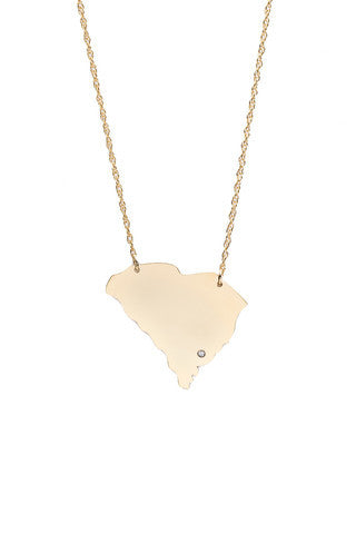 Moon and Lola State Necklace Apparel & Accessories > Jewelry > Necklaces - 2