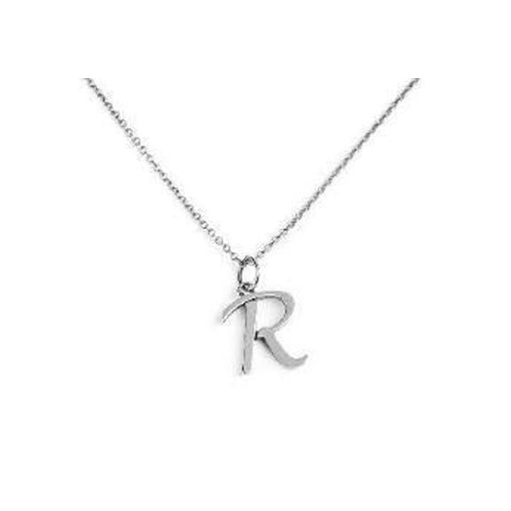 Grey Lee Designs Sterling Silver Initial Necklace Apparel & Accessories > Jewelry > Necklaces - 1